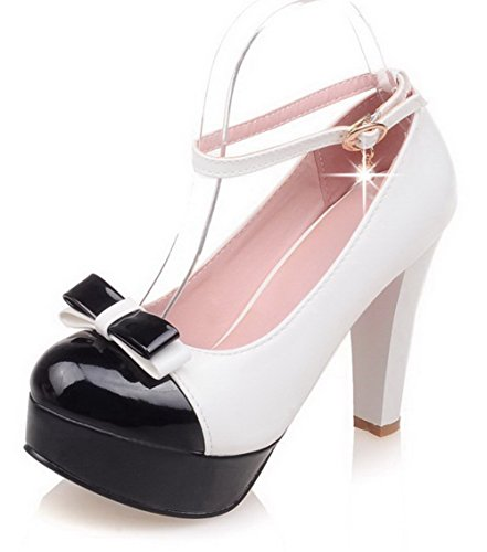 allhqfashion-womens-round-closed-toe-buckle-pu-assorted-color-high-heels-pumps-shoes-white-37