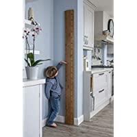 Giant Wooden Ruler Height Chart, Inches, Feet & Cms