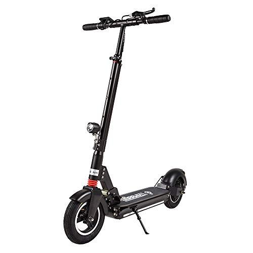 HUIGE Adult Electric Scooter mit Dual Suspension, Heiß-Adjustable Easy-Falt-Kick-Scooter mit Big Wheels für Teens Kids ab 12 Jahren