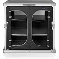 CAMPART TRAVEL Cocina de Camping Toledo KI-0758 – Seis Compartimentos – Fácil de Llevar a Todas Partes