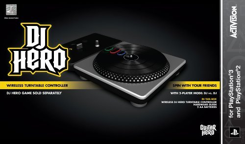 DJ Hero Stand-Alone Turntable - Playstation 2/Playstation 3 by Activision
