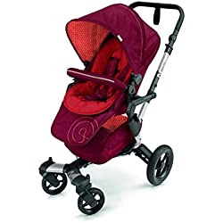Concord Neo Stroller - Silla de paseo, color flaming red