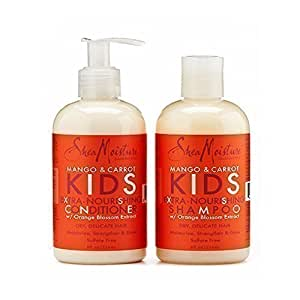 SheaMoisture Mango & Carrot KIDS Extra-Nourishing Shampoo & Conditioner