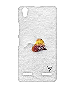 Vogueshell Snow Pattern Printed Symmetry PRO Series Hard Back Case for Lenovo A6000