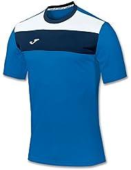 Joma Crew - Camiseta para hombre, color azul royal, talla XL