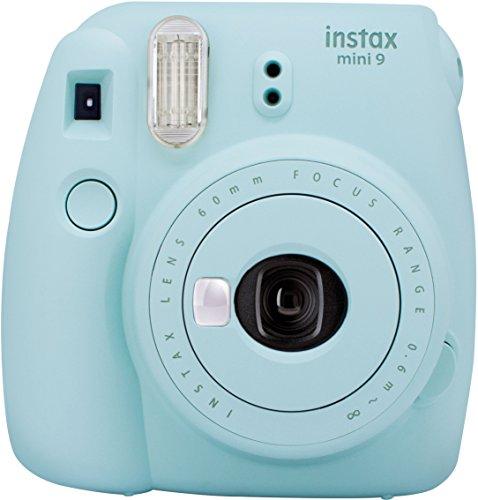 Fujifilm Instax Mini 9 Kamera ice blau mit Tasche