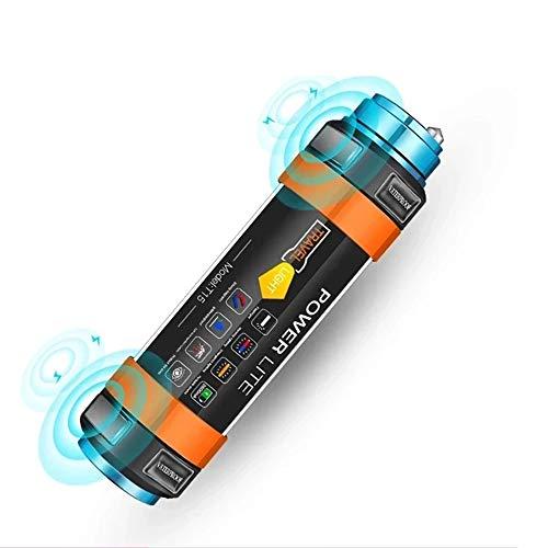 XHDATA Camping Taschenlampe IP68 Wasserdicht LED Lampe Mückenschutz SOS Auto Warnleuchte Entwickelt für Wandern Camping Tauchen Reisen Lesen Backpacker (X108) (Phone Wasserdichte)