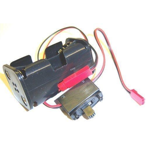 Empfänger Akkupack Das Fall 4 x AA RC JST BEC + Schalter
