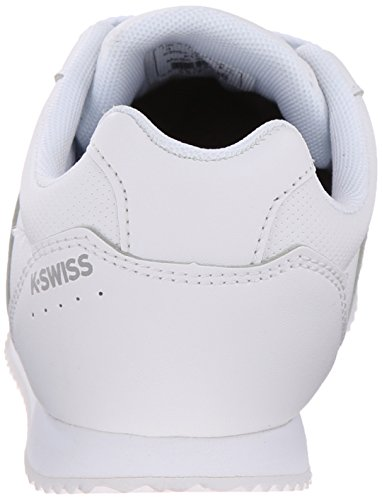 K-Swiss New Haven S Jugend Synthetik Turnschuhe White/Gull Gray