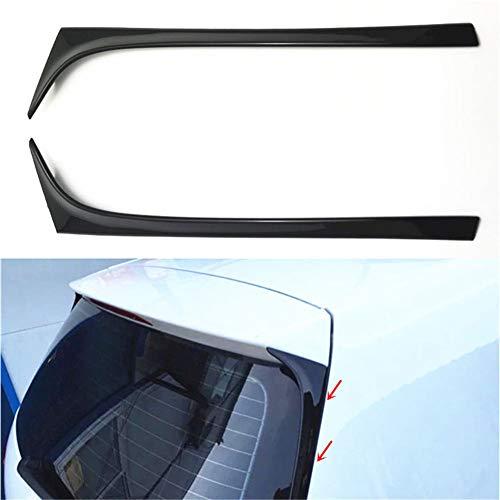 NANAD Spoiler Flügel, 2 Stück/Paar Auto Heckscheibe Seitenspoiler für Volkswagen Golf 7 MK7 2014 bis 2017