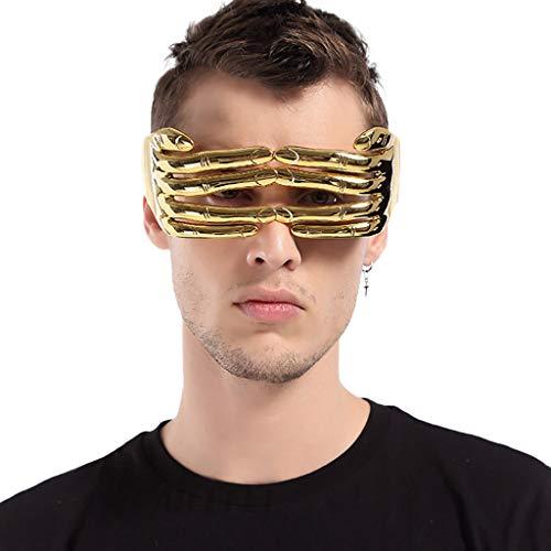 Merical costume della novità divertente folle vestito operato del partito occhiali da sole accessori