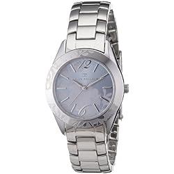 Tom Tailor Damen-Armbanduhr XS Analog Edelstahl 5406503