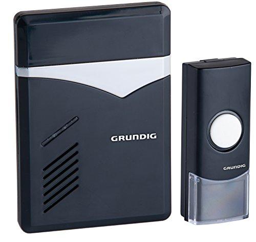 Grundig Sonnerie de porte sans fil avec LED 3 options de sonnerie au choix et 36 tonalités