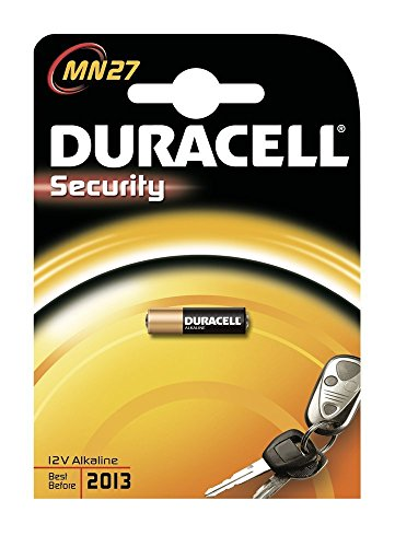 DURACELL MN27BPK Watch / Electronic / Keyless Entry Battery, 12 Volt Alkaline by Duracell (English Manual)