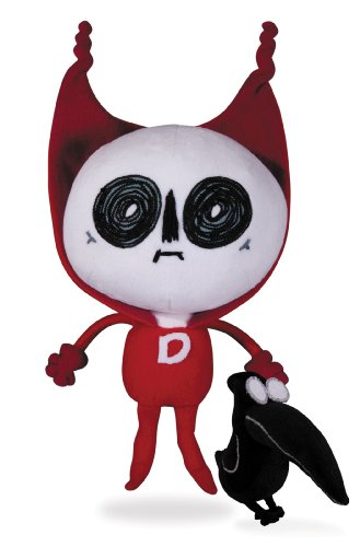 Dc Comics Nation Deadman and Crow Plush Figure (Pack of 2)