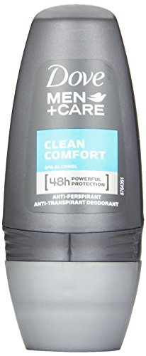 Dove Men+Care Deo Roll-On Clean Comfort Anti-Transpirant, 50 ml