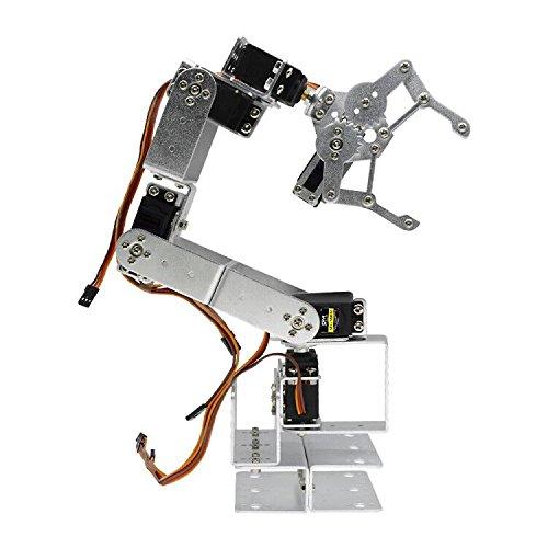 Diymore ROT3U 6DOF Aluminium Robot Arm Mechanical