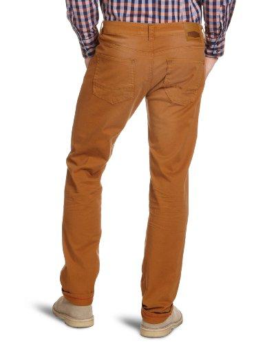 Cross Jeans Herren Jeans Normaler Bund F 194-910 / Jack Braun (Ocker)