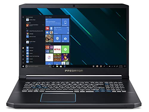 Acer Predator Helios 300 PH317-53-74SD Notebook Gaming con Processore Intel Core i7-9750H, RAM 16 GB DDR4, 512 GB SSD, Display 17.3' FHD IPS 144Hz, NVIDIA GeForce RTX 2060 6G GDDR6, Windows 10 Home