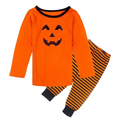Baby Kürbis Kostüm Mama Und - Familien Outfit Mutter Vater Kind Familien Kleidung Set Mama Papa Baby Halloween Kürbis Kostüm Passende Pyjama Set Familie Schlafanzug/130