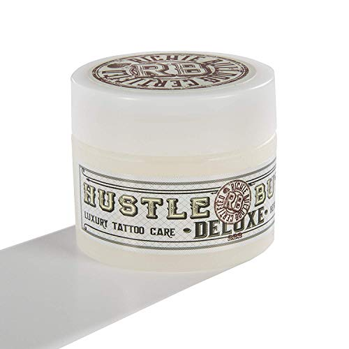 Hustle Butter Deluxe - 1oz (ca. 28g) - vegane Tattoopflege, Tattoocreme