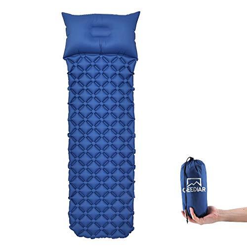 GEEDIAR Isomatte - aufblasbare Luftmatte