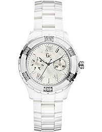 Reloj Guess Collection Gc Sport Class Xl-s X69117l1s Mujer Nácar 42c88e7eddeb