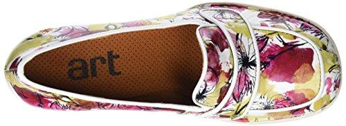 ART Damen 0079 Fantasy Bristol Hohe Absätze mit Geschlossener Spitze Mehrfarbig (Flowers)