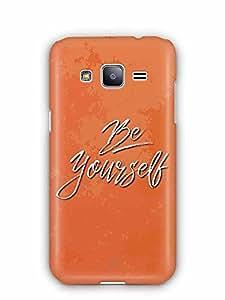 YuBingo Be Yourself Designer Mobile Case Back Cover for Samsung Galaxy J2