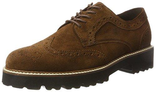 Gabor Shoes Damen Fashion Derbys, Braun (14 Whisky (Cognac)), 37 EU