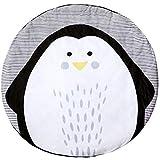 AIBAB Baby Spielmatte Rainforest Erlebnisdecke 0-3 Jahre Alt Neue Kindermatten Pinguin Tier Krabbeln Matten Spiel Teppiche Kinderzimmer Dekoration Waschbar Schlafteppich