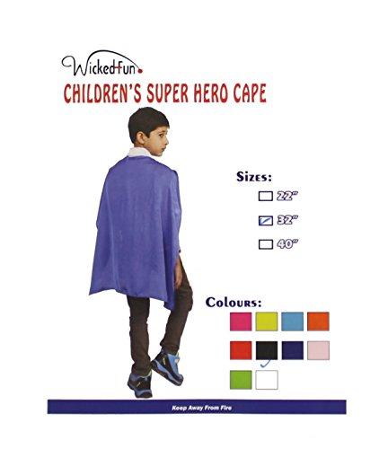 ro Cape & Mask Fancy Dress Costume (Blue Cape Kostüm Ideen)