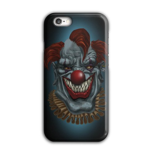 Gruselig Horror Clown schaurig Wütend Zirkus iPhone 6 / 6S Hülle | (Kostüm Clown Hai)