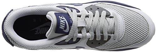 Nike Air Max 90 Essential, Baskets mode homme Gris (Wolf Grey/binary Blue/dark Gre)