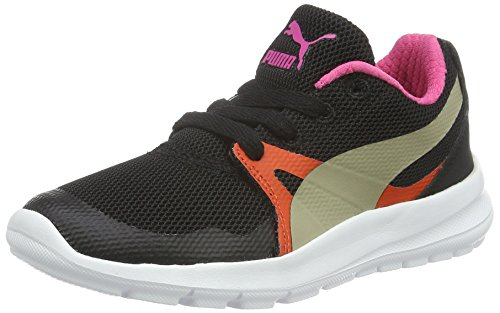 Puma Unisex-Kinder Duplex Evo PS Low-Top, Schwarz Black-Chinchilla 03, 31 EU (Chinchilla Black)