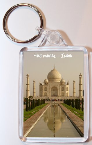 taj-mahal-india-double-sided-large-keyring-gift-present-souvenir