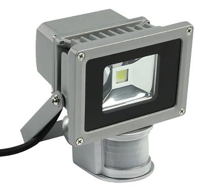HQ 10W LED Projector IP65 und Sensor Lamp LP02HQS von NEDIS GmbH bei Lampenhans.de