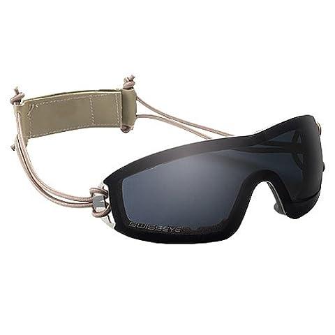 Swiss Eye Infantry Goggle Smoke Objektiv