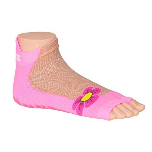 Sweakers® Pink Pump Anti-Rutsch Schwimmsocken (23 - 26)