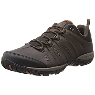 Columbia Herren Woodburn II Waterproof Wasserdichte Schuhe, Braun (Cordovan, Cinna 231), 43 EU