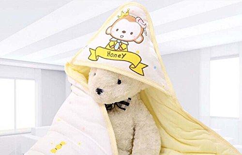Honig Affemuster weich und bequem Baumwolle Baby swaddle Decke