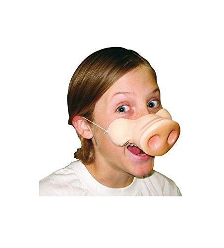 hweine Nase, Erwachsenen Kostüm–Standard Größe (Miss Piggy Halloween-kostüm)
