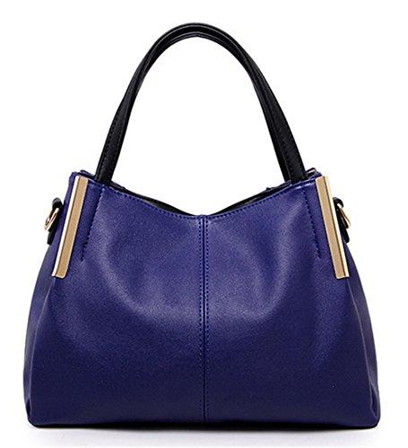 Xinmaoyuan Borse donna Ladies Borsetta tracolla trasversale obliqua Big Bag Blue