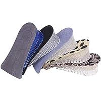WGE 5 Paar Atmungsaktive Speicher Silikon Höhe Erhöhen Einlegesohle Unsichtbar Erhöht Heel Lifting Einsätze Schuhauflagen... preisvergleich bei billige-tabletten.eu