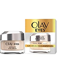 Olay Eyes Ultimate Eye Cream with Niacinamide for Dark Circles, Wrinkles and Puffiness, 15 ml