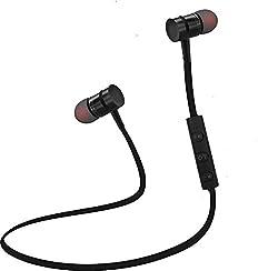 Envent LiveTune 505 Wireless Bluetooth Earphone With Magnetic Locking Design (Black)