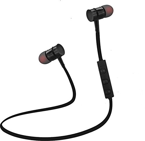 Envent Live Tune ET-BTE1505 Wireless Bluetooth Earphone with Magnetic Locking Design (Black)