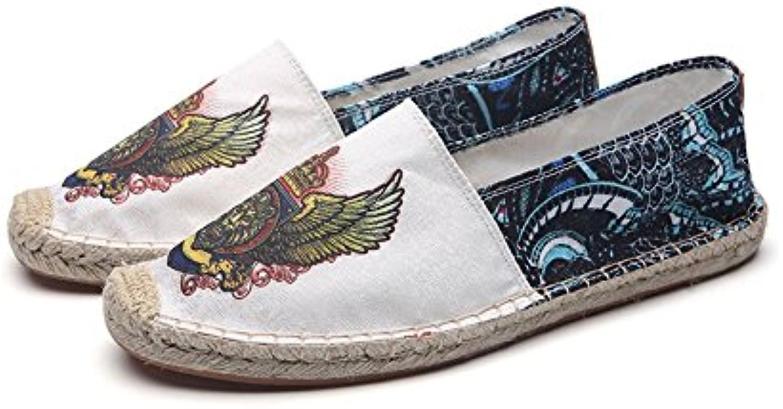 Sneaker XUEQIN Klassische Farbe Canvas Schuhe Leinen Herrenschuhe (größe : EU43/UK9/CN44)