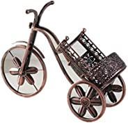 Iron Art Wine Holder Retro Metal Wine Rack Creative Bike Bottle Rack Holder Household Wine Set