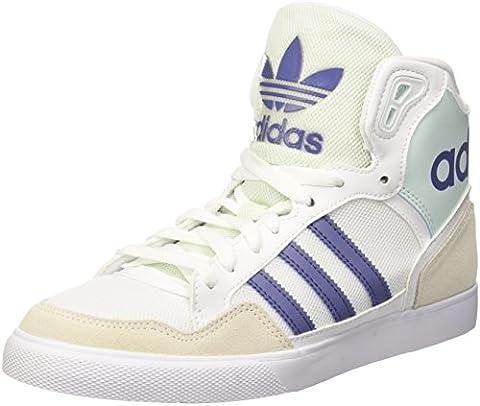 adidas Damen Extaball W Hohe Sneakers, Bianco (Ftwwht/Suppur/Icemin), 41 1/3 EU